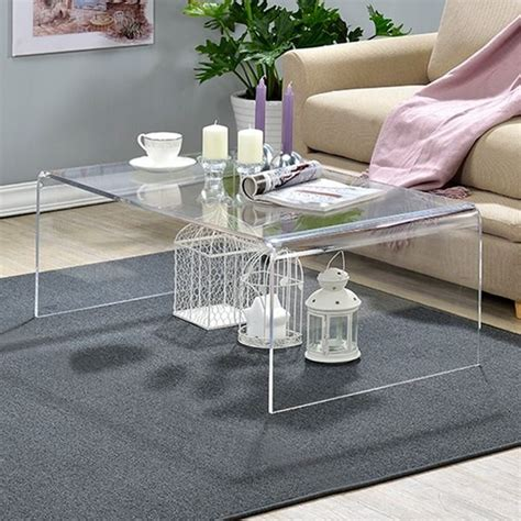 Clear Acrylic Coffee Table Overstock