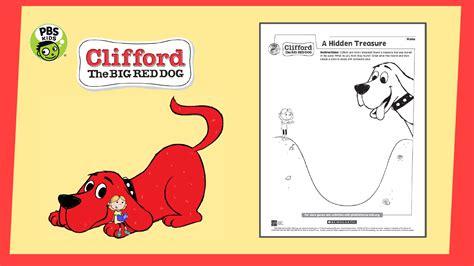 Clifford Big Red Dog Printables PBS Kids