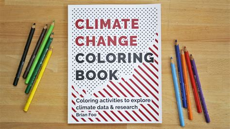 Climate Change Coloring Book by Brian Foo Kickstarter