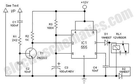 Clock Alarm Light Switch Circuit ElectroSchematics
