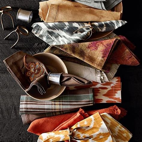 Cloth Linen Napkins Pottery Barn