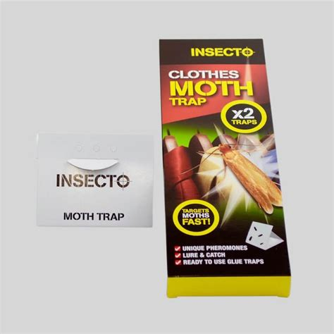 Clothes Moths Traps and killer products Moth Killer