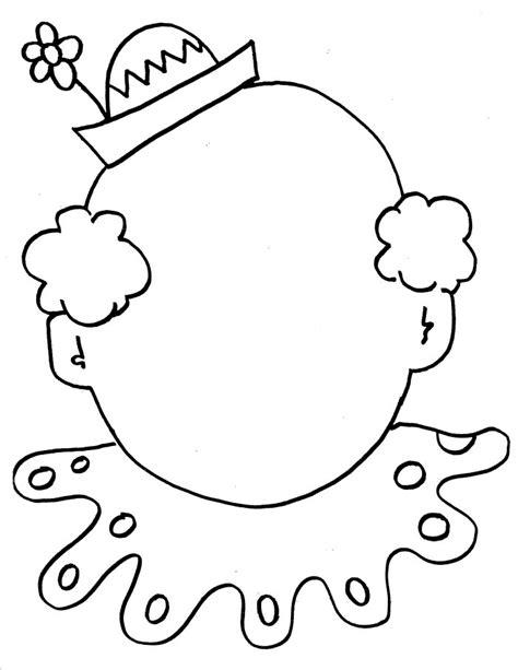 Clowns Circus Performers Printable Templates