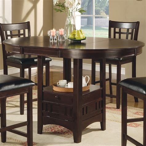 Coaster Fine Furniture Louise Wood Extending Dining Table