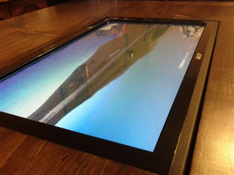 Coffee Table With Built in Touch Screen Instructables