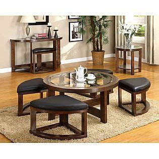 Coffee Table With Ottoman Seating Sears Online In