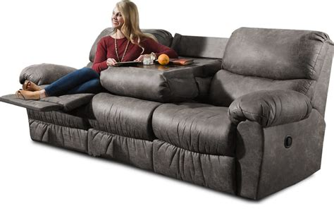 Coffee Table with Reclining Sofa Houzz