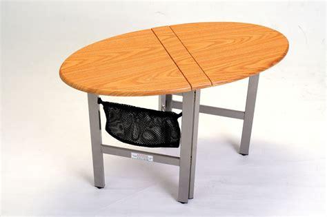Collapsible Folding RV Motorhome Coffee Table NEW OAK