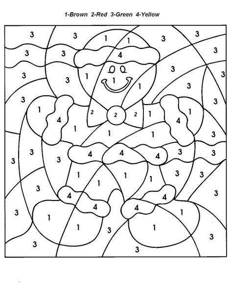 Color By Number Coloring Pages Reading With Kids