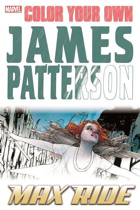Color Your Own James Patterson Max Ride Walmart