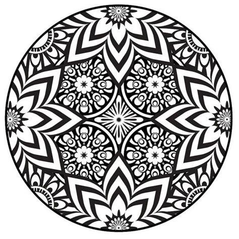 Color a mandala Free Printable Mandala Coloring Pages