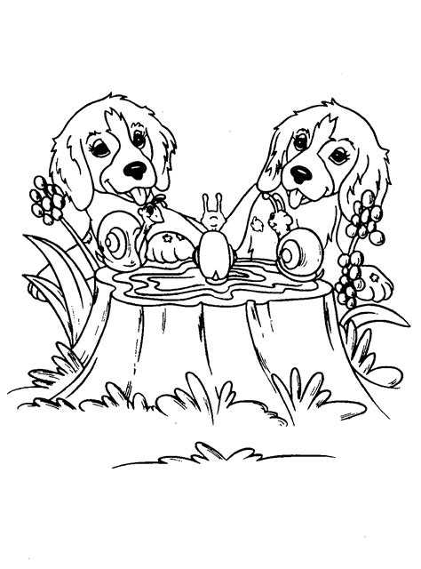 Color pictures of dogs Coloring Pages