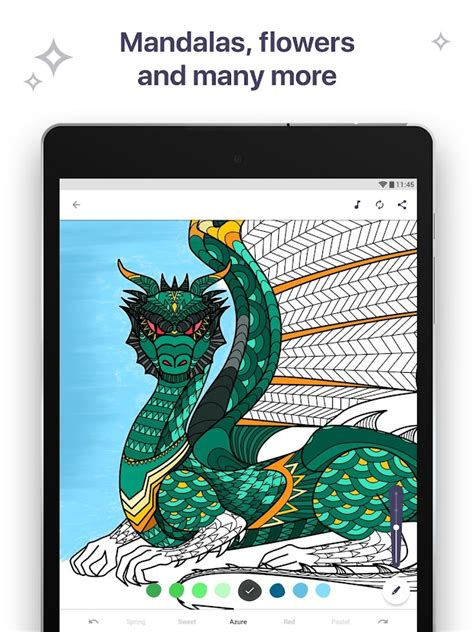 Coloring Book for Me Mandala Android App by Apalon Apps