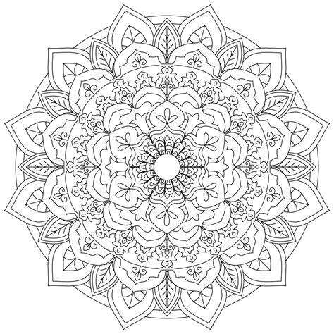 Coloring Book for Me Mandala Freepcdownload