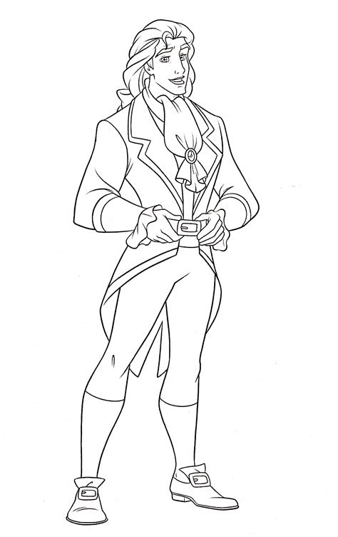 Coloring Books Prince Free Online Coloring Page