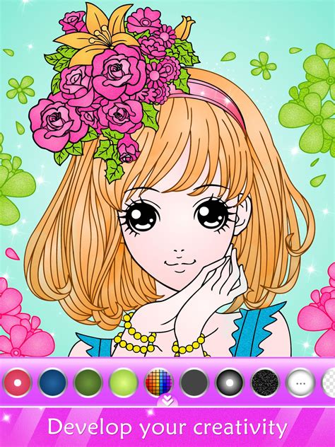 Coloring Games Girl Games 1 Games for Girls