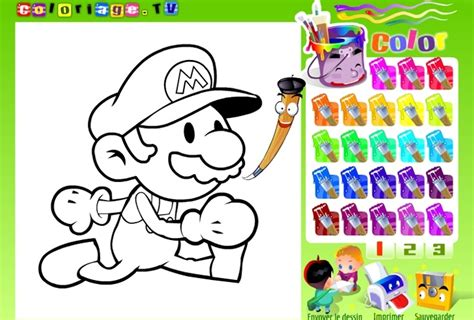 Coloring Mario Games Play Free Mario Game Online