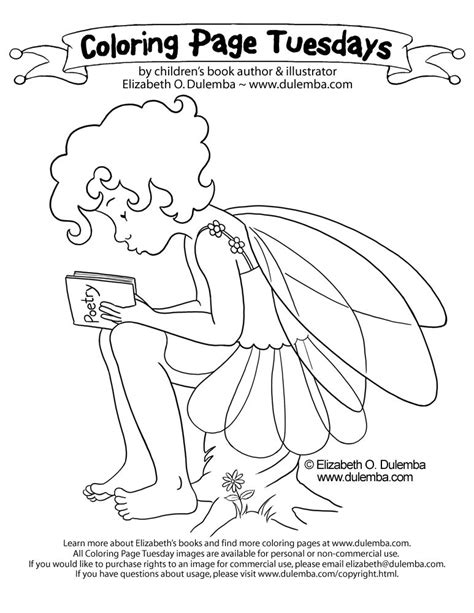 Coloring Pages Elizabeth O Dulemba