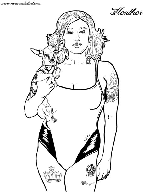 Coloring Pages From Your Digital Photos