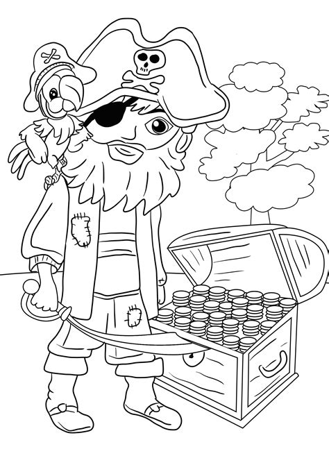 Coloring Pages Kids Pirates Coloring Pages Pirate