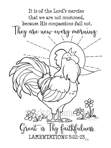 Coloring Pages Morning Kids