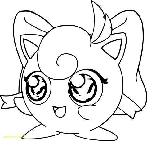 Coloring Pages Pokemon Jigglypuff Drawings Pokemon