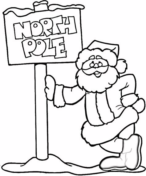 Coloring Pages The North Pole
