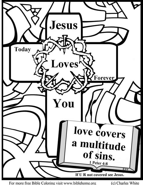 Coloring Pages dltk bible