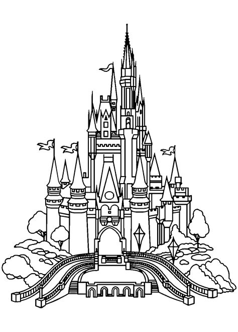 Coloring Pages from Coloring Castle