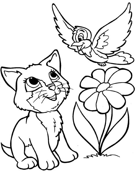 Coloring animals Animal Coloring Pages