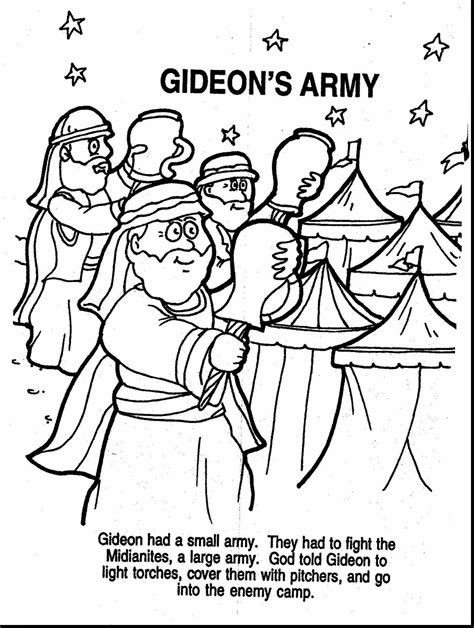 Coloring pages Bible Story Printables