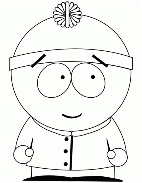 Coloring pages south park Colouring Pages and Printable