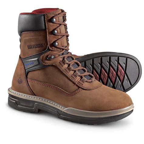 Comfortable Men s Work Boots Shoes Wolverine