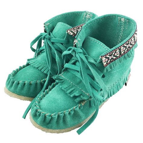 Comfortable Stylish Authentic Native Moccasin Boots