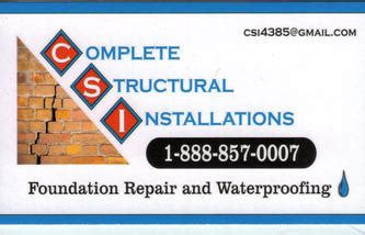 Complete Structural Installation Winchester KY 40392
