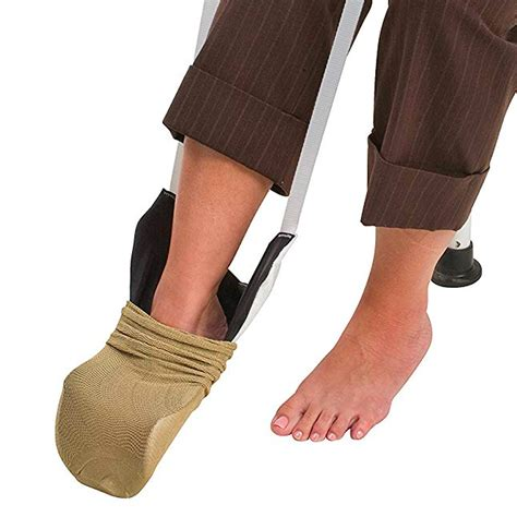 Compression stocking aid for putting on compression
