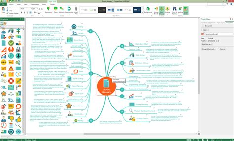 Conceptdraw Mind Map Software Drawing Tools