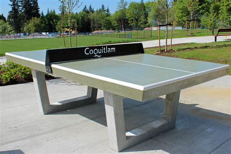 Concrete Table Tennis Concrete ping pong tables