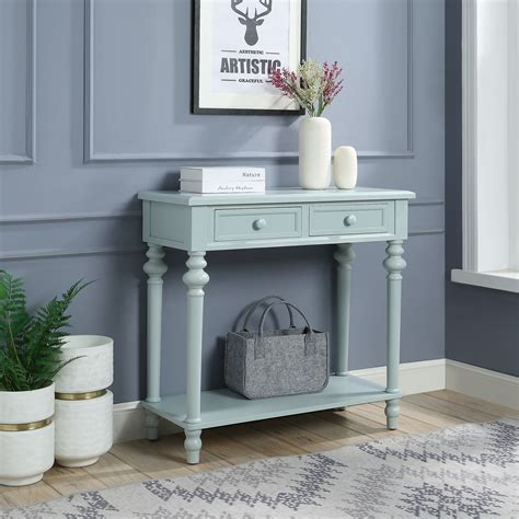 Console Table with Turned Legs Walmart
