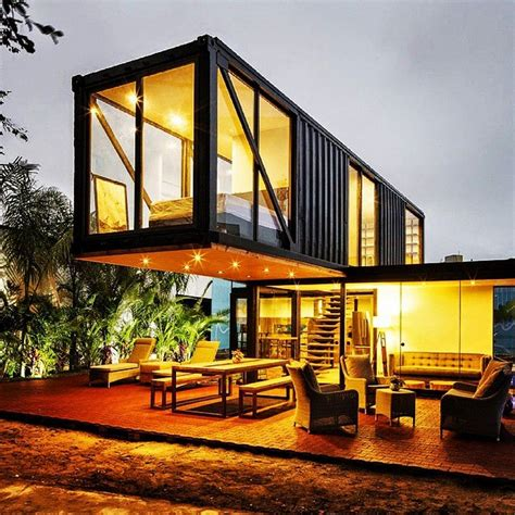 Container Architecture shipping container house design