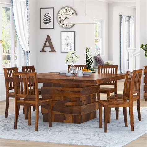 Contemporary Dining Room Table WOOD Store