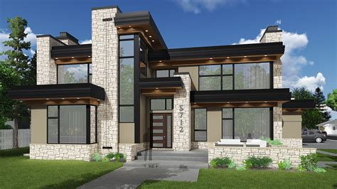 Contemporary House Plans Floor Plans for The Modern