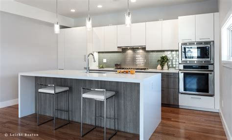 Contemporary Laminate Kitchen Cabinets Houzz