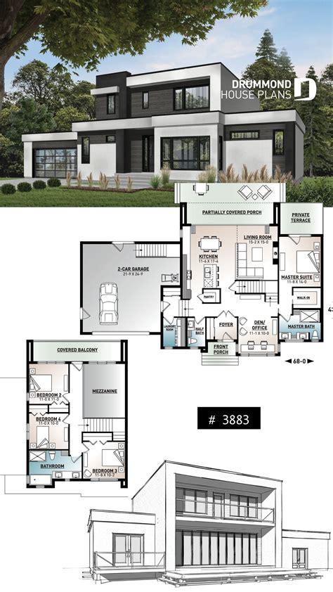 Contemporary Modern Home Plans