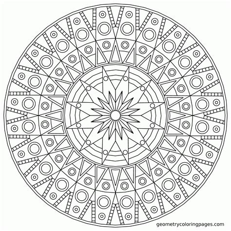 Cool Mandala Coloring Pages Pdf Printable For 36384