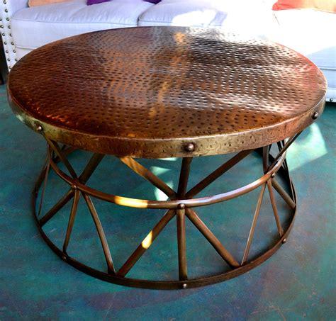 Copper Furniture Hammered Copper Furniture Copper Table