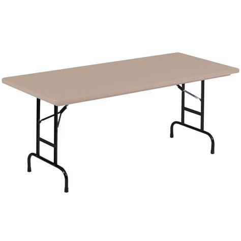 Correll Inc R Series Heavy Duty Plastic Folding Tables