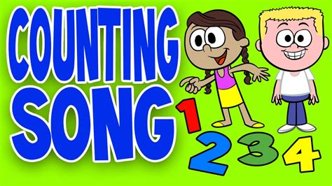 Counting Songs for Children Counting Together Kids
