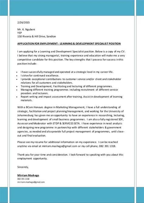 Cover Letter Template Cover Letter Format CVTips
