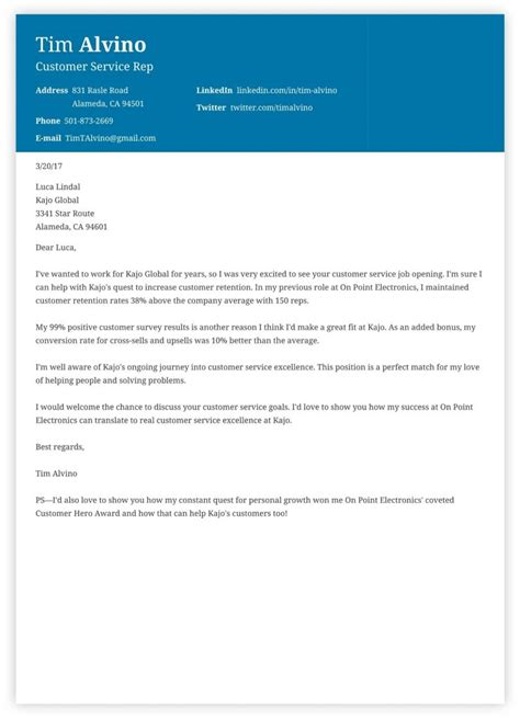 Cover Letters The Careers Service